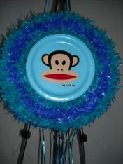 Monkey pull pinata