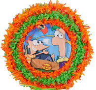 Phineas and Ferb pull pinata
