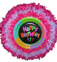 Happy birthday fun pull pinata