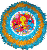 Sesame Street III Pull String Pinata