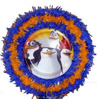 Penguins of Madagascar Pull String Pinata