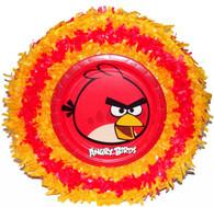 Angry birds round pinata