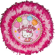 Hello Kitty Balloons pull pinata