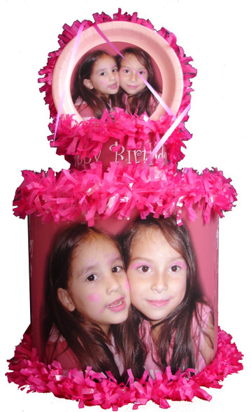 Personalized with your photo pinata