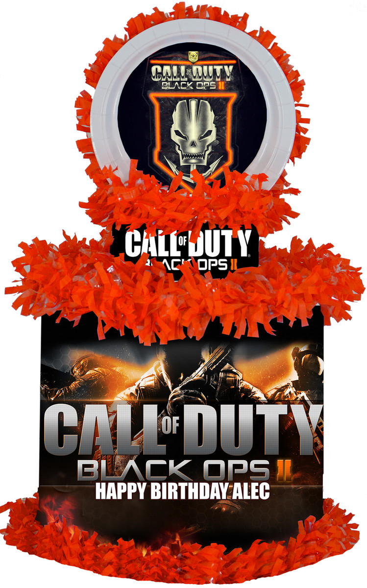 Call of duty black ops pinata for Black ops 3 decorations