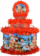 Back to the Barnyard Personalized Pinata