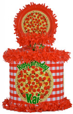 Pizza Party Personalized Pinata