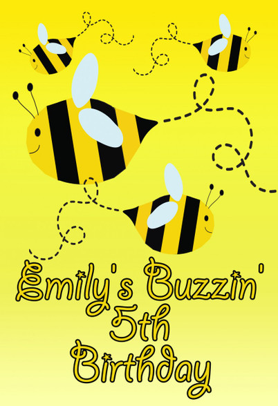 Bee Personalized Poster