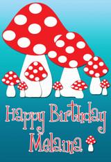 Mushroom Personalized Poster