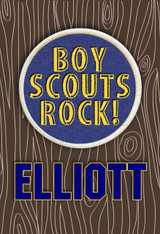 Boy Scouts Rock Personalized Poster