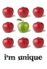 I'm Unique Poster