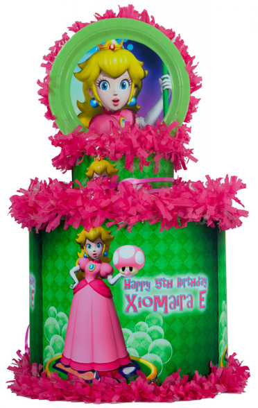Princess Peach Personalized Pinata