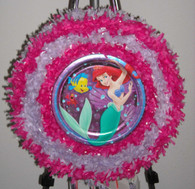 Little Mermaid Pull String Pinata