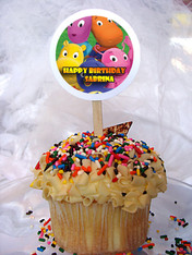 Backyardigans Personalized Cupcake Toppers
