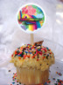 Care Bear Personalized Cupcake Toppers