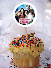 iCarly Personalized Cupcake Toppers