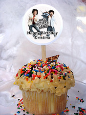 Naked Brothers Band Personalized Cupcake Toppers