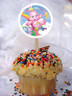 Care Bear II Personalized Cupcake Toppers