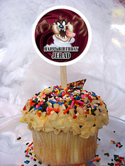 Taz Personalized Cupcake Toppers