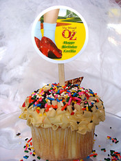 Wizard of Oz Personalized Cupcake Toppers