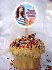 Wizard of Waverly Place Personalized Cupcake Toppers