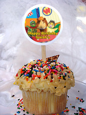Wonder Pets Personalized Cupcake Toppers