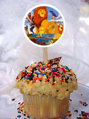 Lion King Cupcake Toppers