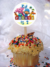 Pocoyo and Friends Cupcake Toppers
