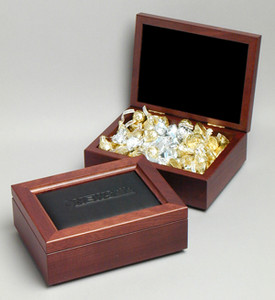 Elegante Dynasty II Box w/Leather Top (3152-09)