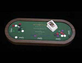 Casino poker mini game table 2199-01