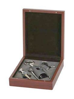 Lancer Rosewood 3 Piece Wine Gift Set (4122-52)