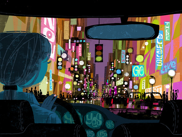 """""""City"""" Limited edition Giclee"""