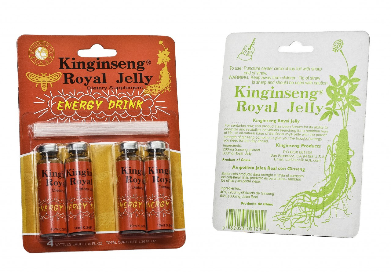 Kinginseng Royal Jelly Pack (4 Bottles)