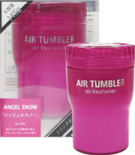 Air Tumbler Angel Snow: Luxurious floral and fruity blend complemented by amber and vanilla