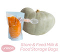 Store & Feed Breast Milk & Baby Food Storage Bags