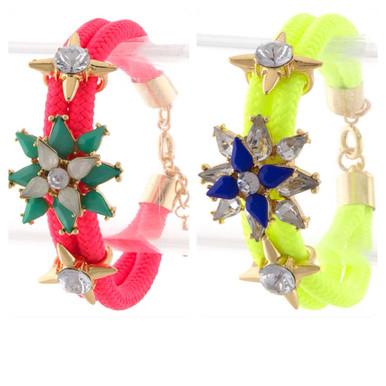 Tristen Neon Friendship Bracelet