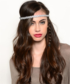 Metallic Twist Headband