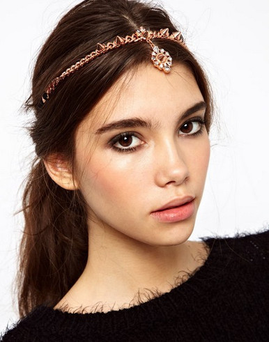 Rosegold Spike Hair Band