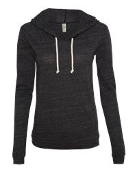 Fancy Eco-Jersey Classic Hooded Pullover Front