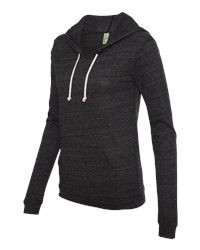 Fancy Eco-Jersey Classic Hooded Pullover Side View