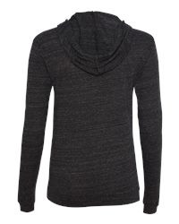 Fancy Eco-Jersey Classic Hooded Pullover Back View
