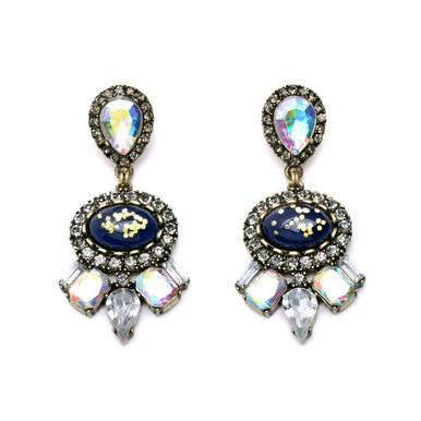 Gold Mine Drops - Statement Earrings