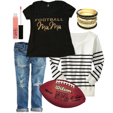 Custom Football Mama | Soccer Mama | Baseball Mama T Shirt