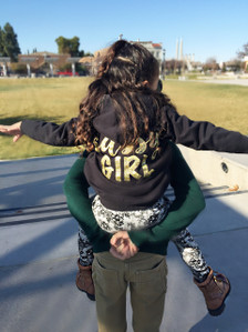 1108 Boutique Sassy Girl Long Sleeve Sweatshirt for Toddlers and Kids