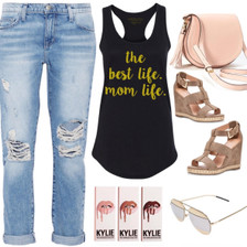 Mom Life is the Best Life.  Weekend Style.