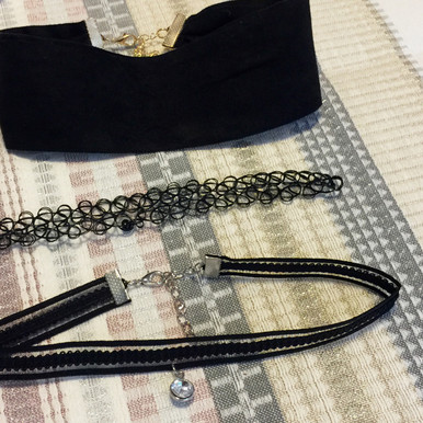Sexy multi-layer choker set