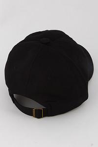 WOMENS BLACK BASEBALL CAP