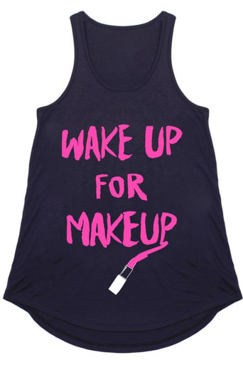 Makeup lovers tank top.  Great for Lipsense Distributors to wear as advertisement.