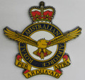 Royal Australian Air Force Metal Crest RAAF Crest