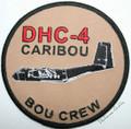 RAAF CARIBOU Uniform Patch BOU CREW
